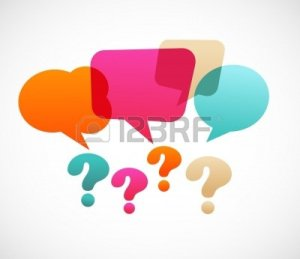MARCHE 110012687-vraagteken-met-spraak-bubles