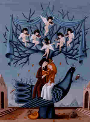 PRINTEMPSpeynet arbre oiseaux cherubins les sanglots longs