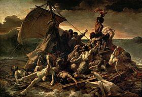 EAU280px-JEAN_LOUIS_THÉODORE_GÉRICAULT_-_La_Balsa_de_la_Medusa_(Museo_del_Louvre,_1818-19)
