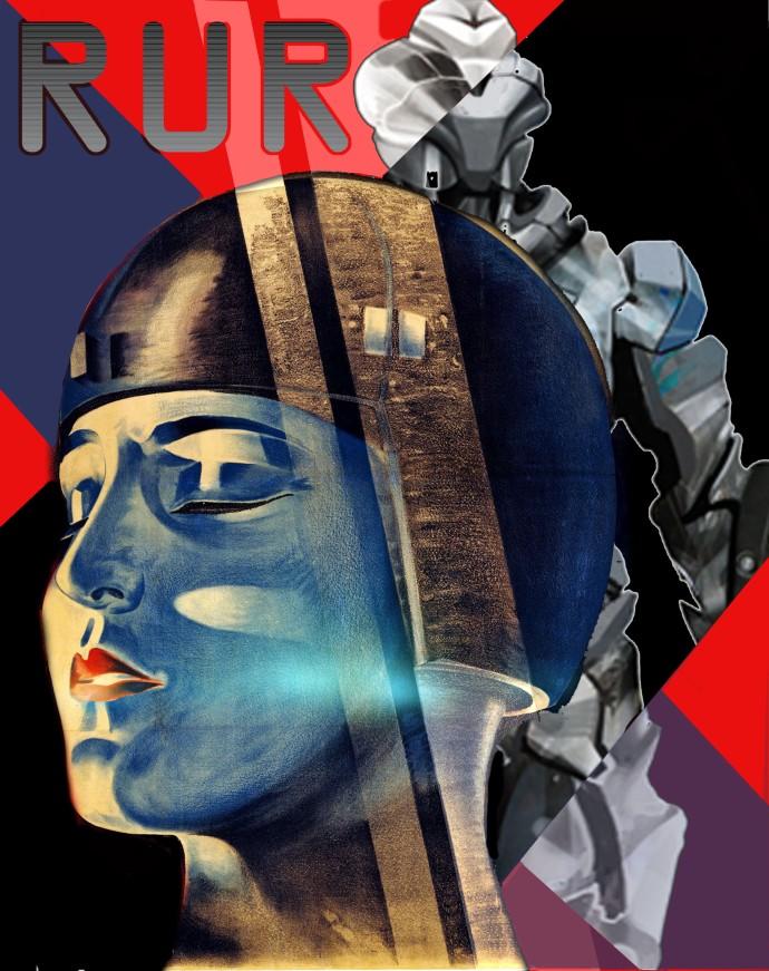 ROBOT afficheRUR