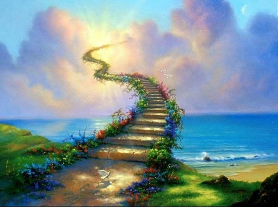 Défi n°52 Escalier vert