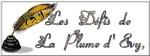 BANIERE LES DEFIS de LA PLUME d'EVY